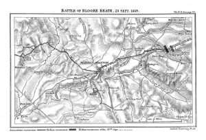 Battle of Blore Heath in the Wars of the Roses
