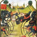 Battle of Tewkesbury (MS Ghent, Wikimedia)