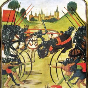 Battle of Tewkesbury (MS Ghent, Wikimedia)