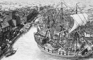 Eighteenth century migration from Ireland and Scotland to North America