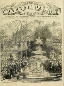 British Exhibition at Crystal Palace, promoting consumerism