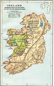 Settlement of Ireland