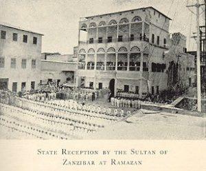 Zanzibar Palace before the bombardment