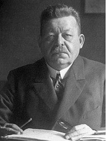 Friedrich Ebert was the first
