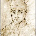Humphrey, Duke of Gloucester. Contemporary drawing by J Le Boucq