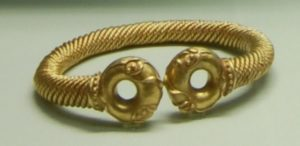 Newark and Sedgeford Torcs held by the British Museum.